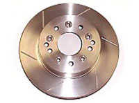 Stock Type Corvette Vented Steel Rotors