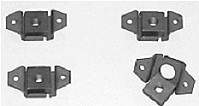 M060 1963-82 Corvette cage and nut sets